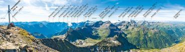 Berg-Panorama Hochwildstelle (Schladminger Tauern)