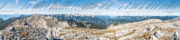 Berg-Panorama Warscheneck (Totes Gebirge)