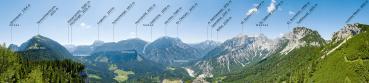Berg-Panorama Zur Tieflimauer (Nationalpark Gesäuse)